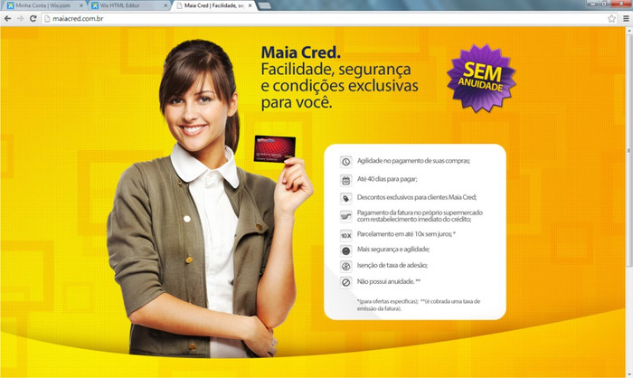 Launch of own brand credit card