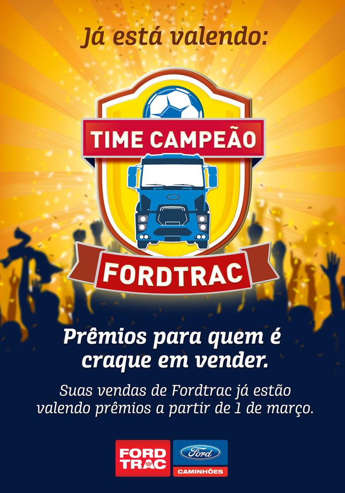 Campanha de incentivo comercial - FORDTRAC