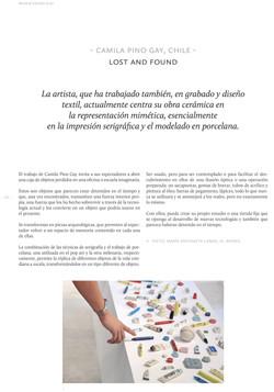 Esteka 2019. Revista cerámica contemporanea.