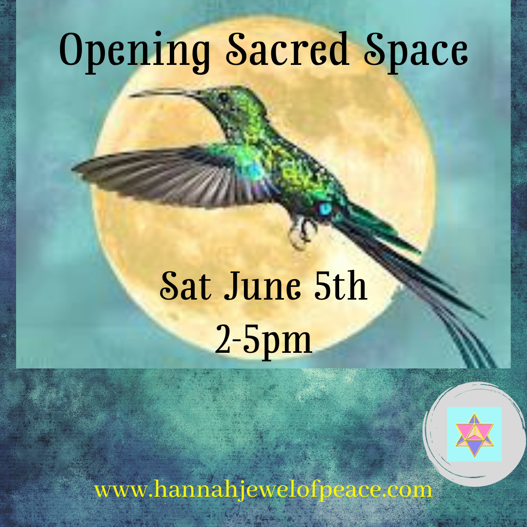 Opening Sacred Space