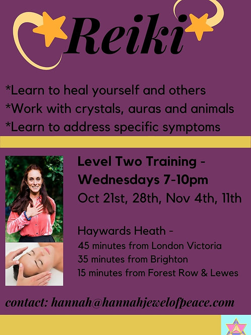 Reiki Level II Training