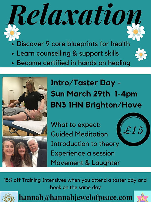 Relaxation Taster Day