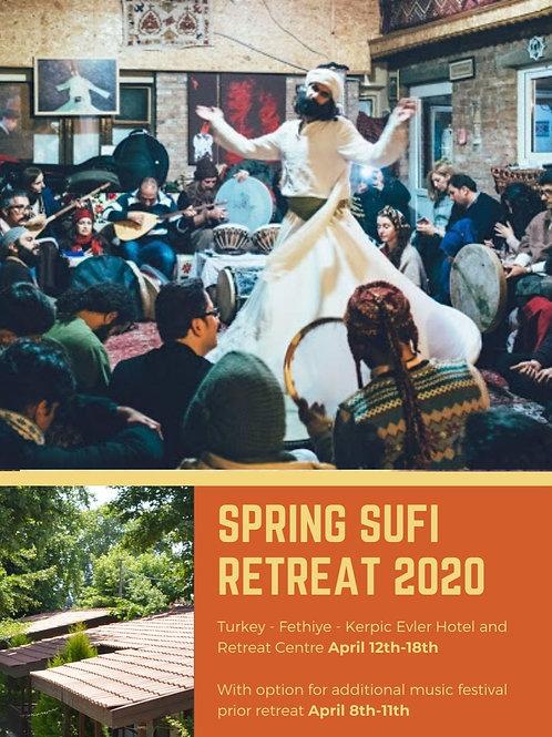Sufi Tour to Turkey