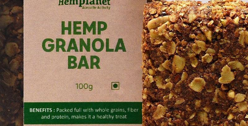 Hemp Granola Bar