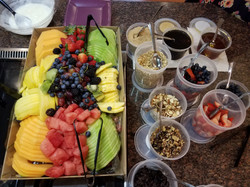 A healthy start to our day!