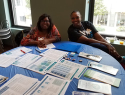 Volunteers from Colon Cancer Alliance.