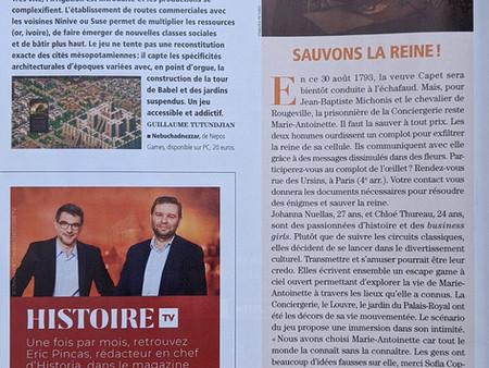 A retrouver dans la dernière édition du magazine Historia !