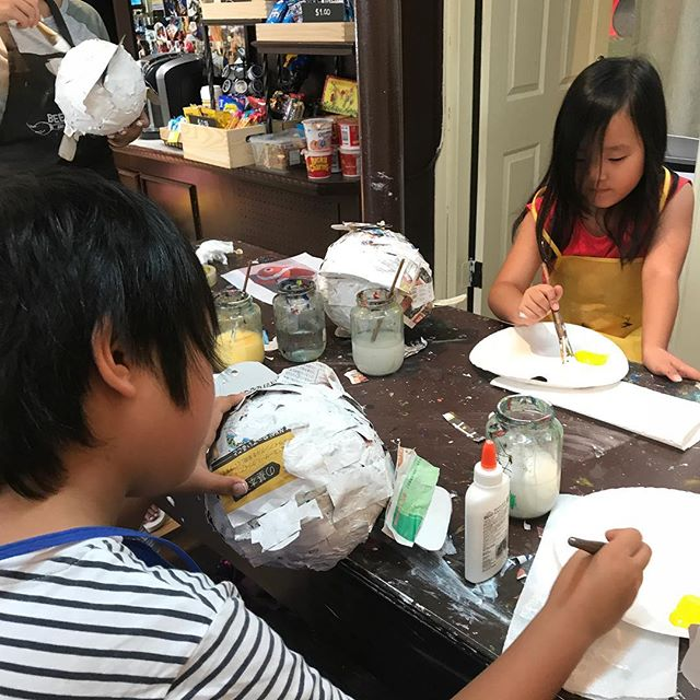 Summer Camp! #beescreativeartstudio #art #ArtClasses #kid #summer #Artstudio