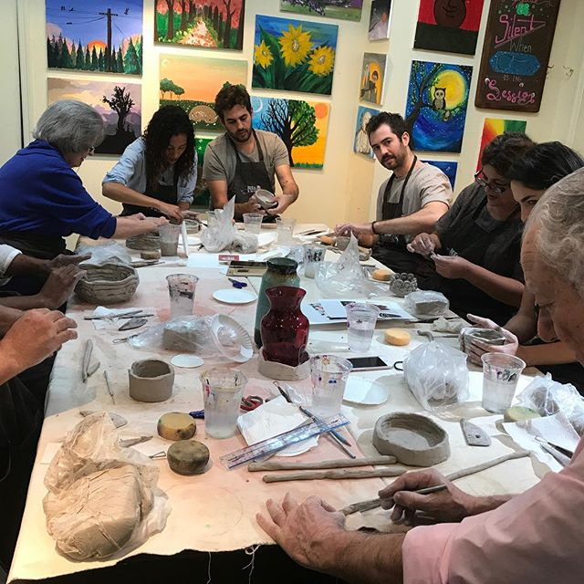 Clay Birthday Party! #clay #birthday #party #beescreativeartstudio #Artstudio #edgewaternj #ArtClass