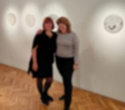 Biliczki and Farkas on their show | Artworks: Anett Biliczki