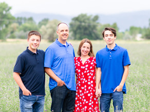 The Wright Family & Scott's Senior Photos