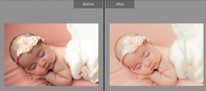 Indoor newborn-- ONLY natural light