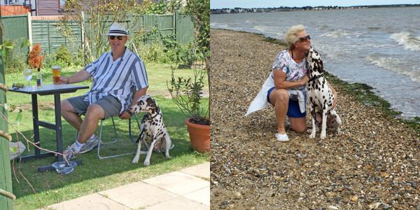 Seaside Walks while Dog Sitting Arlo