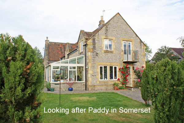 House Sitting a Converted School House in Somerset