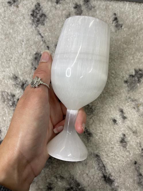 Selenite Goblet