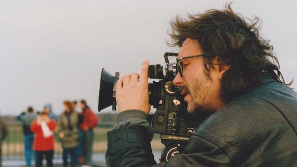 Dokfilmer Horst Herz in Gorleben (Foto c