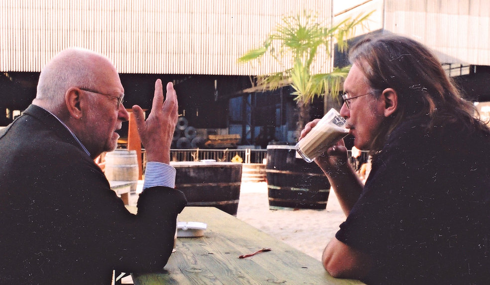 Horst Herz, Seminarleiter im Gespräch mit Mentor Klaus Wildenhahn.jpeg