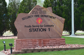 1 Security Fire Station 1 Sign.JPG