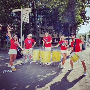 Bębniarze IronMan Gdynia 2019 - Drumbastic