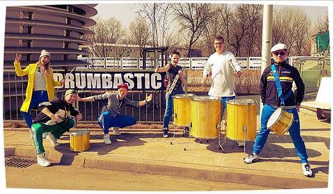 Doping bębniarze Drumbastic