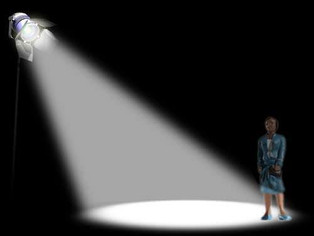 THE SPOTLIGHT IS NOT AS BRIGHT AS YOU THINK