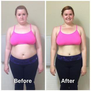 Gemma weight loss front