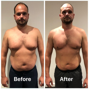 Lee weight loss front