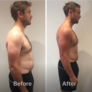 Michael weight loss side