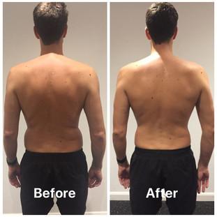 Simon weight loss back