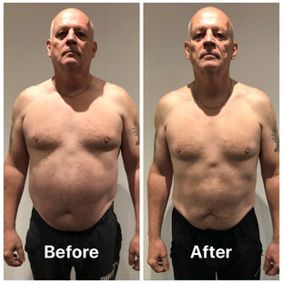 Paul weight loss front