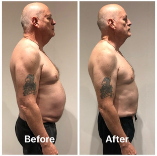 Paul weight loss side