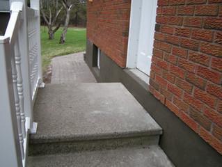 Resurfacing concrete block