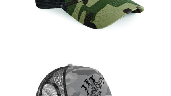 CAVEN CAMO TRUCKER CAP