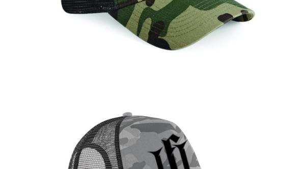 TFT CAMO TRUCKER CAP