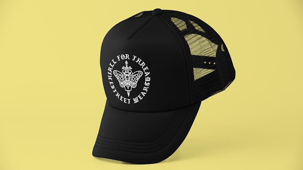 MOTH COFFIN TRUCKER CAP