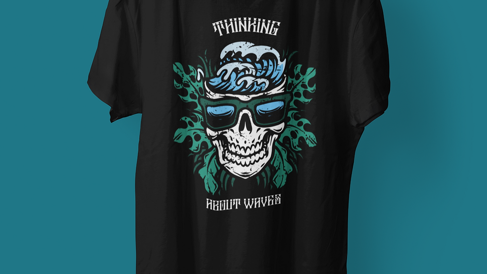 THINKING ABOUT WAVES TSHIRT