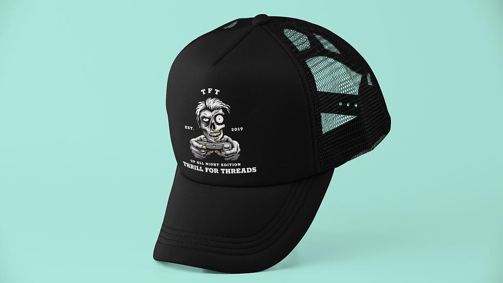 UP ALL NIGHT TRUCKER CAP