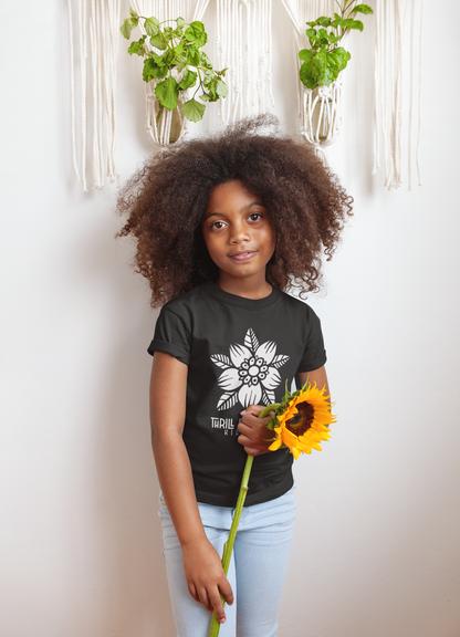 floral kidz tshirt