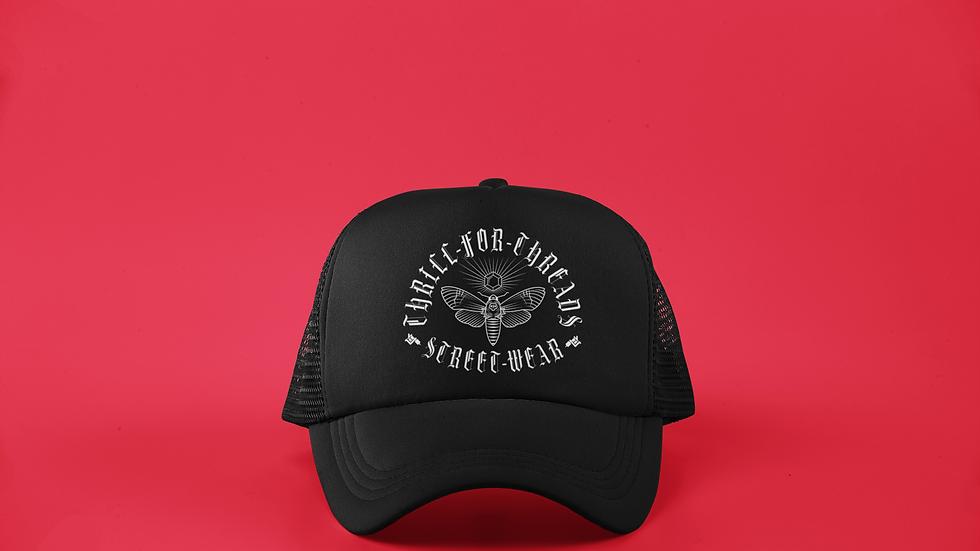 DEATH MOTH TRUCKER CAP
