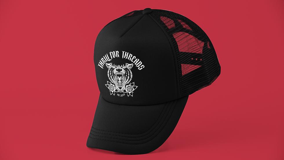 PANTHER TRUCKER CAP