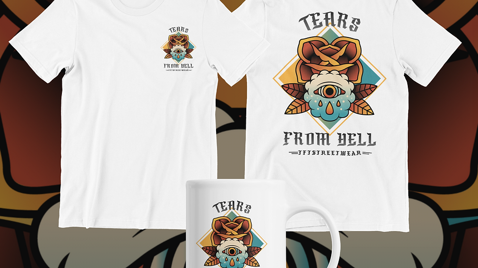 TEARS FROM HELL TSHIRT