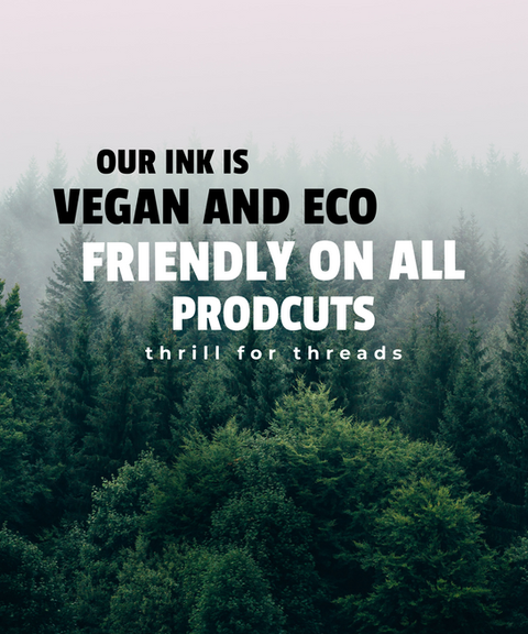 eco and vegan friendly ink