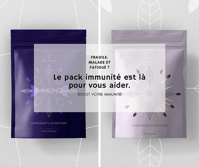 Mizu & Kasai - Pack immunité - 2x60 gélules