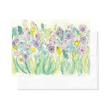 """""""Garden Chat"""" Notecard Set"""