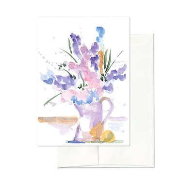 """""""Lavender Still Life"""" Notecard Set"""