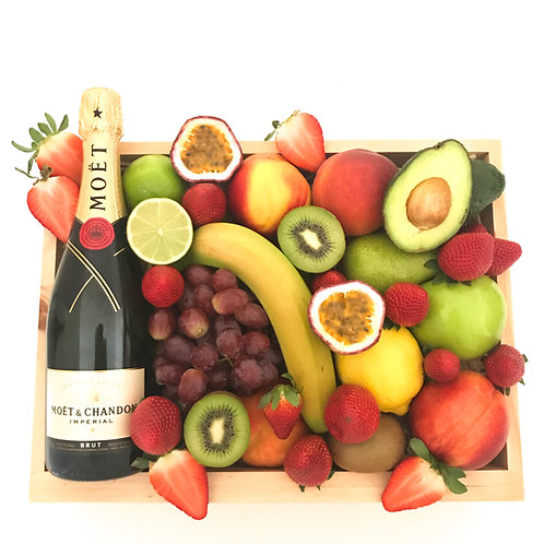 Moet and Fruit