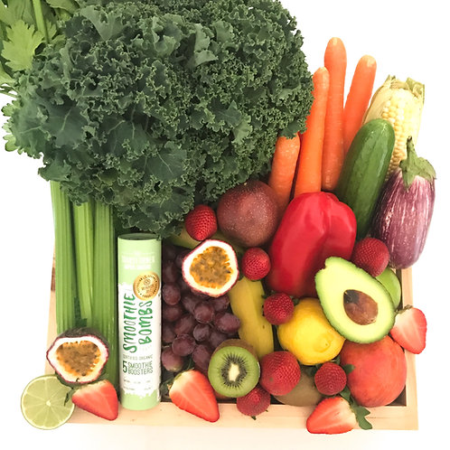 Smoothie Bombs and Fruit and Veg Crate