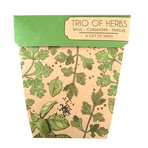 Gift of Seeds - Trio of Herbs