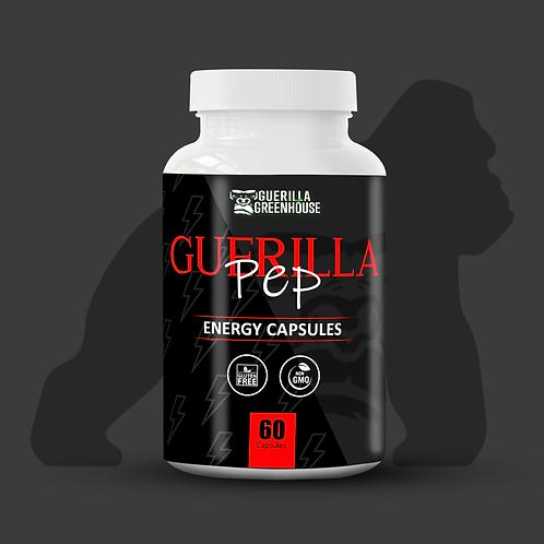 Guerilla Pep Energy caps