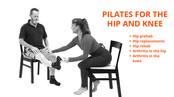 Pilates for the hip and knee